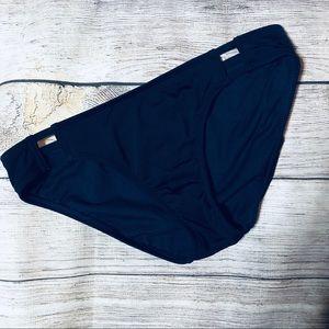 Athleta Navy Bikini Bottoms